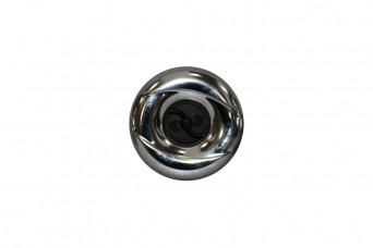 category 3 3/8 Mini Jet, Pulsator, Snap-In, Smooth, Chrome-Black 150126-31