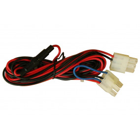 category Spa Audio Equipment Power cable spa bullet red/black (2013E25) 2013E25-10